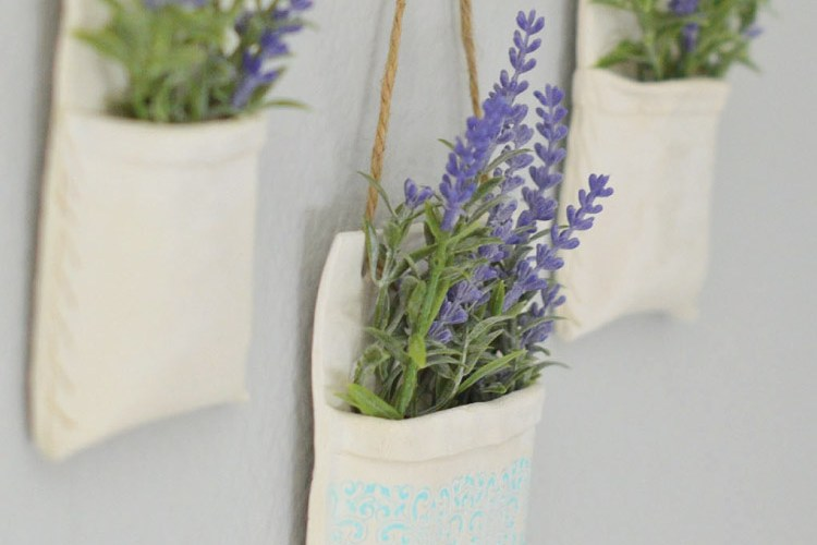How to make Clay Hanging Flower Vases, Create & Share Challenge