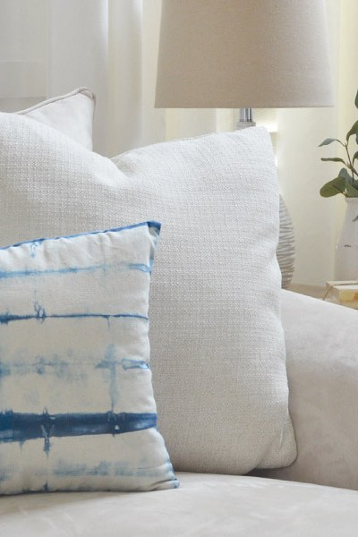 For The Love of Shibori! How to Shibori Dye a Pillow: Create & Share Challenge