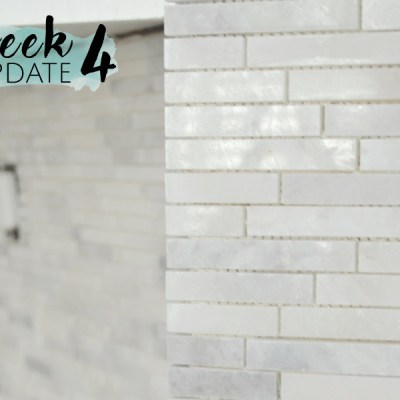 Modern Rustic Kitchen Makeover // ORC Week-4: Backsplash!