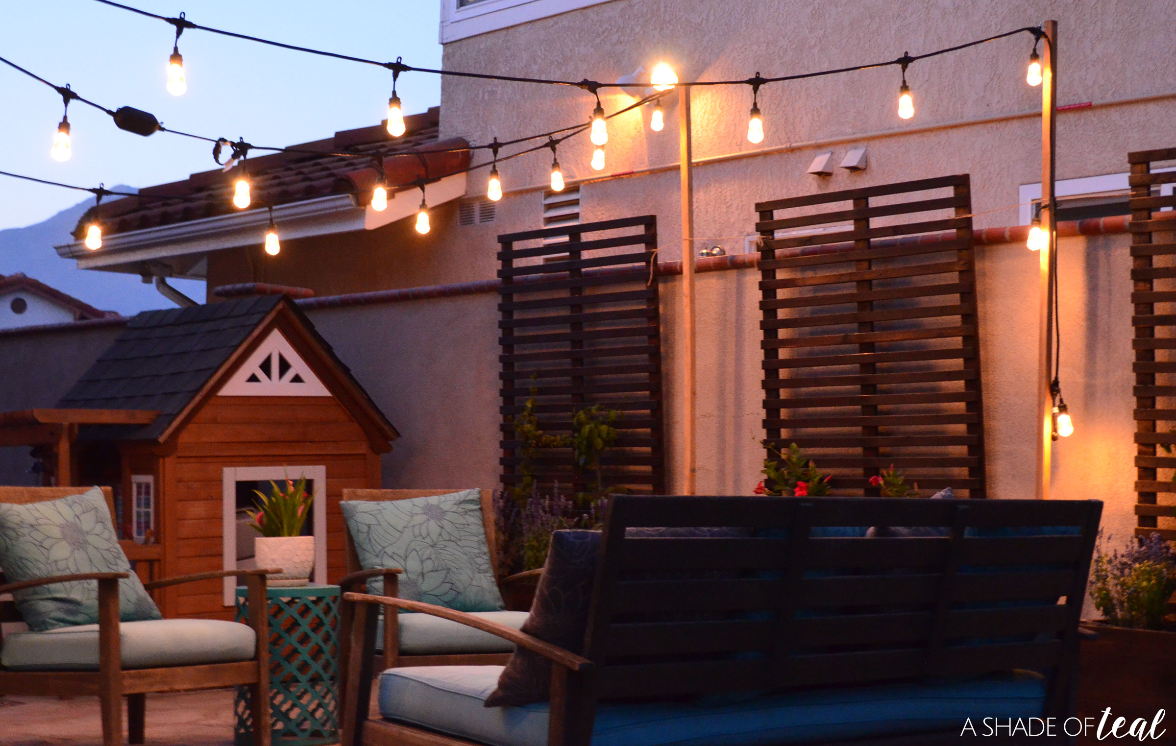 How to Easily add Patio Lighting Anywhere
