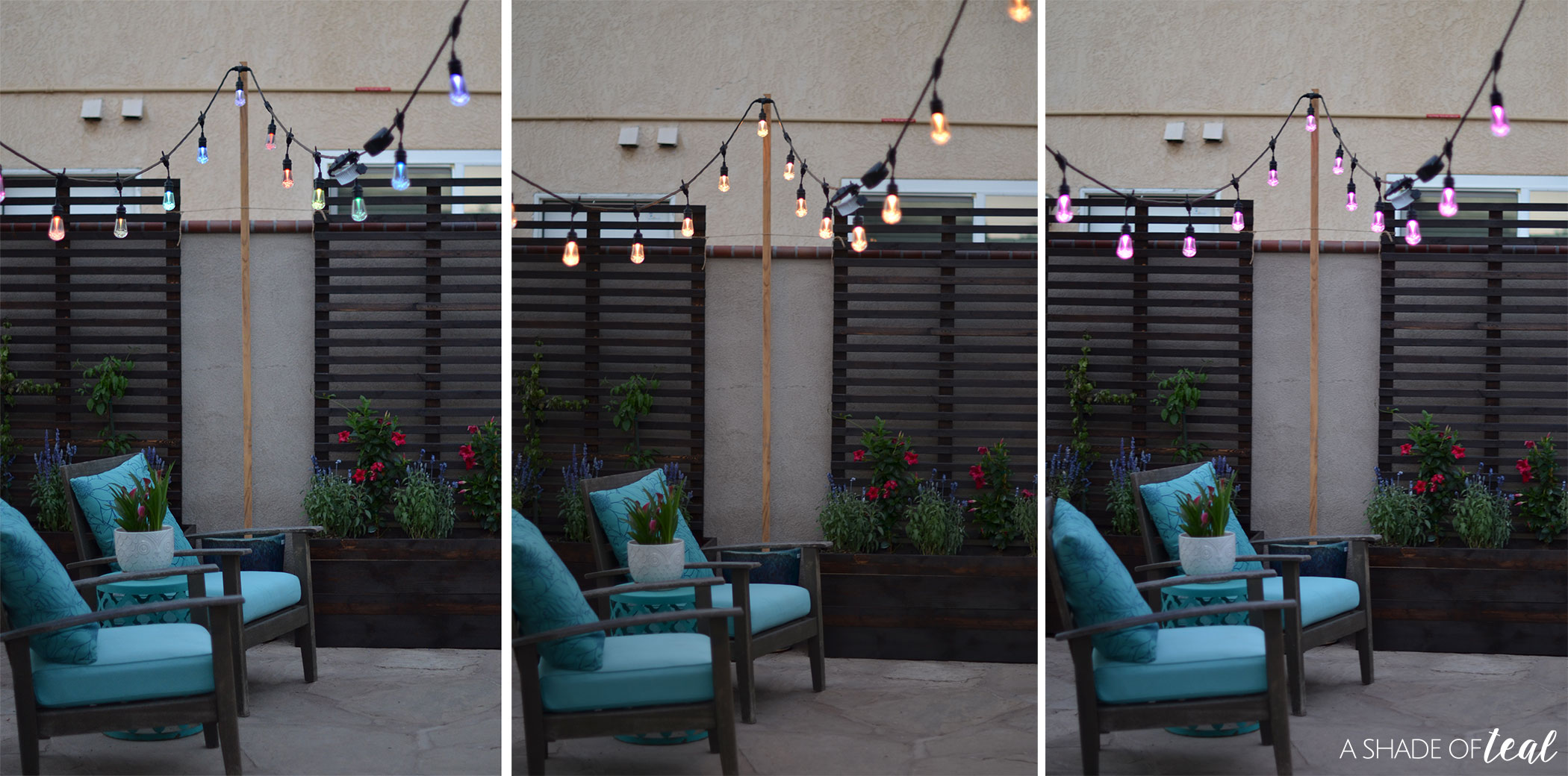 I Know My Daughters Favorite Part Is All The Color Options. With The  Enbrighten Seasons Color Changing Café Lights The Options Are Endless  Including My ...