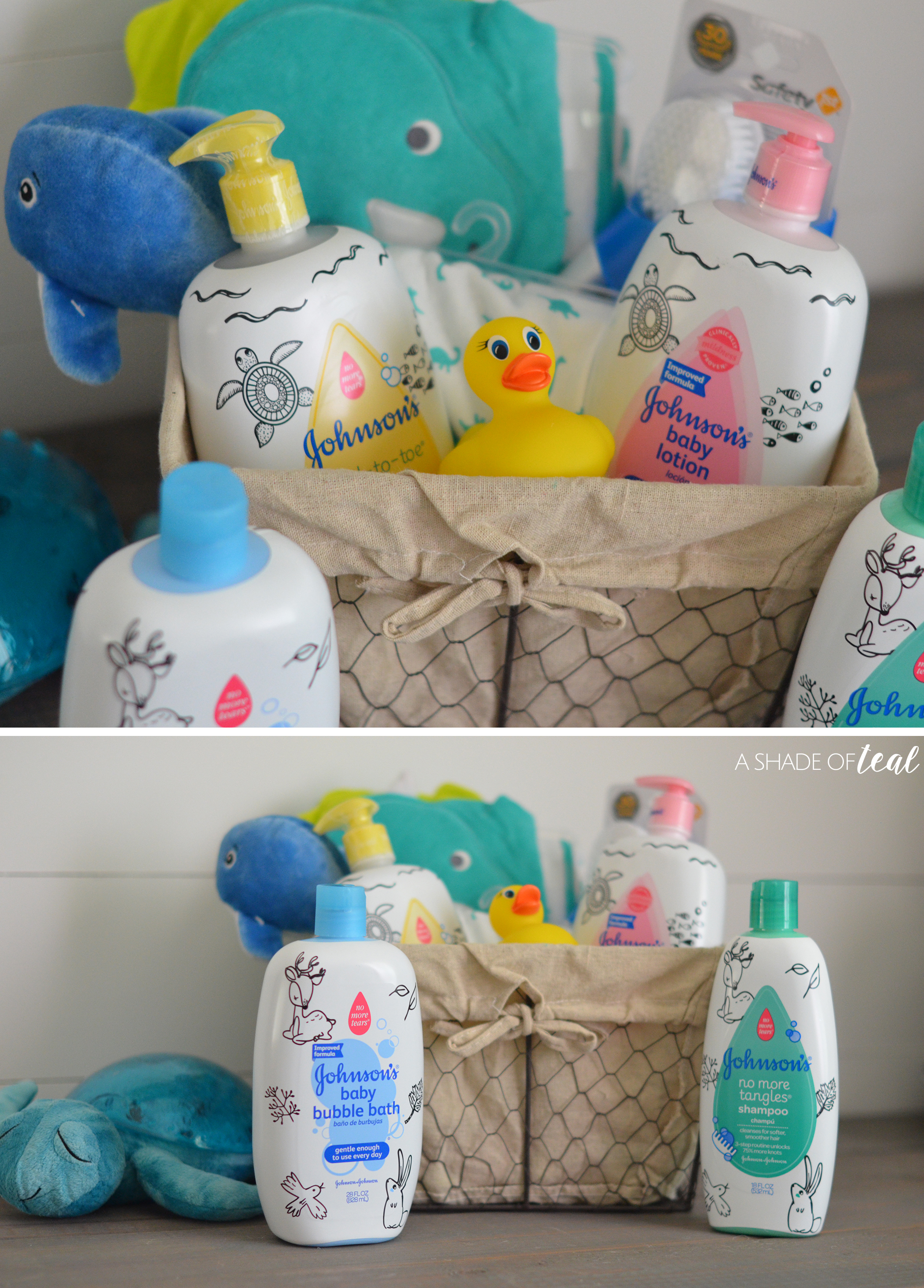 Make a Baby Bath time Kit!
