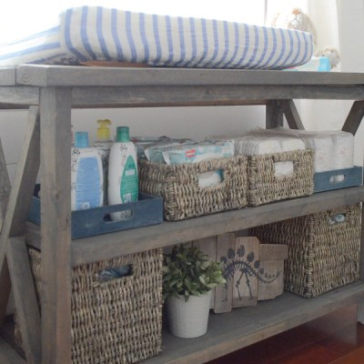 Stock your Changing Table & Diaper Cart