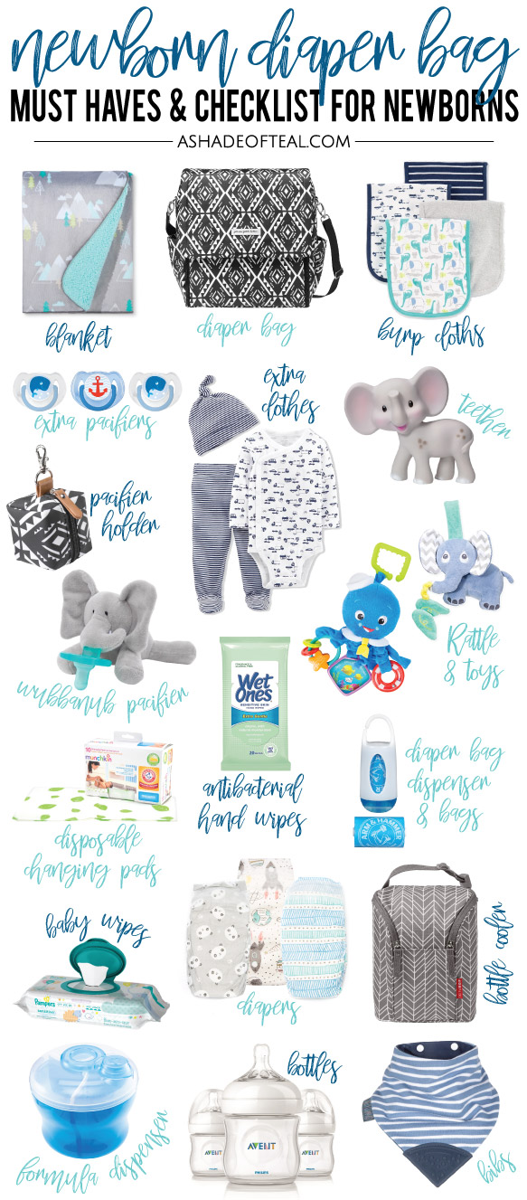 Newborn Diaper Bag Must Haves