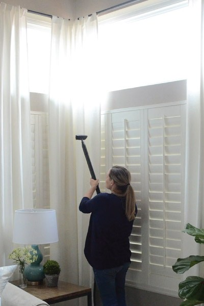 Spring Cleaning Tips! How to Clean your Curtains