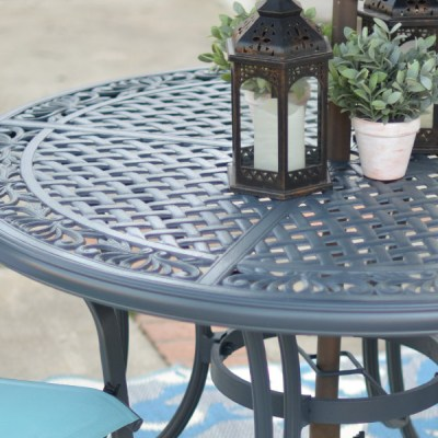 Backyard & Patio Table Update