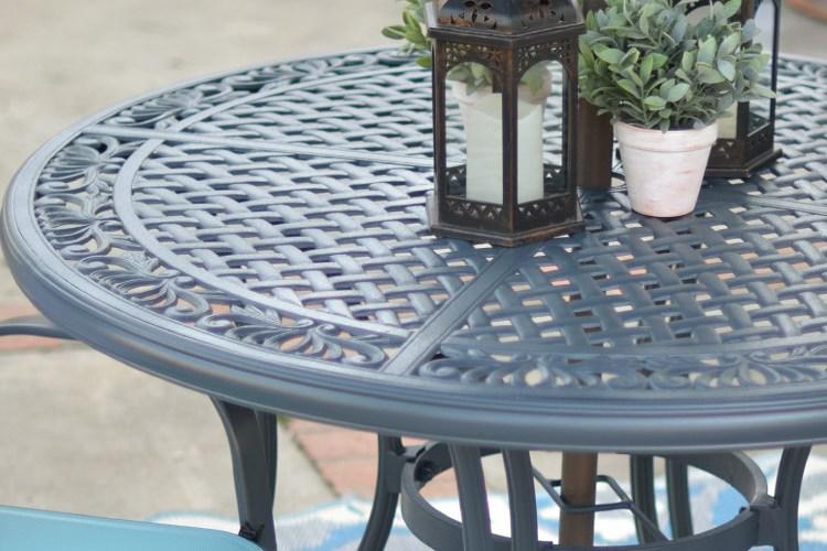 Backyard & Patio Table Update