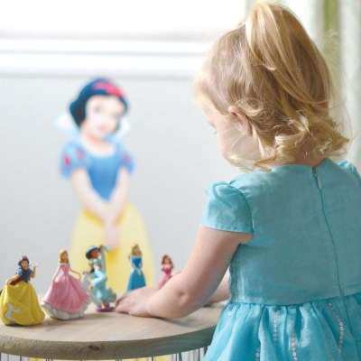 Decorating for Kids with Disney Princess Wall Decals