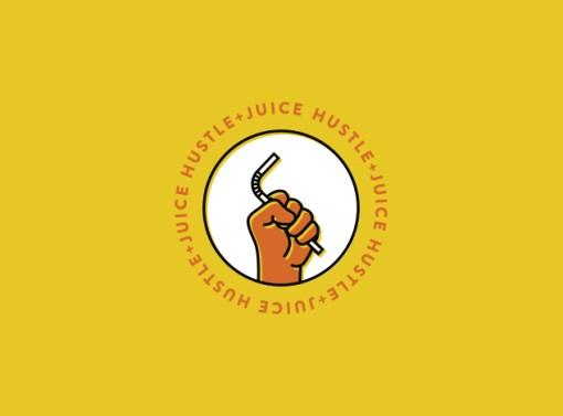 Hustle & Juice Brand Identity