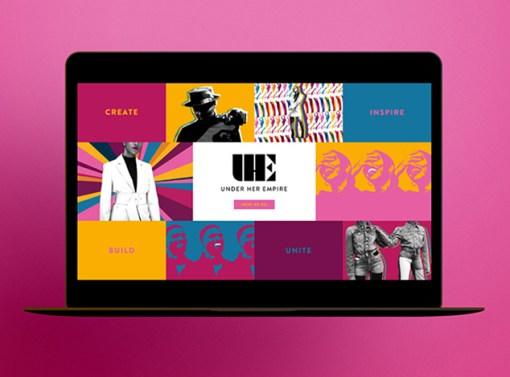 Under Her Empire Website Design