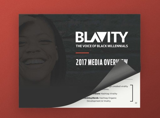 Blavity Presentation Design