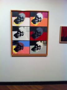Skulls 1976 Acrylic paint and silkscreen