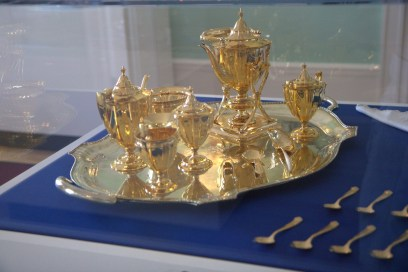 Mary Flagler's personal tea serving tray - one of the two she possessed.
