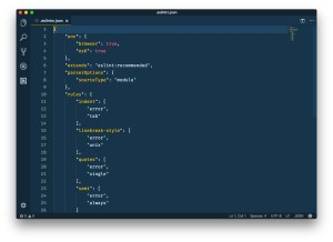 ESLint — ESLint Configuration