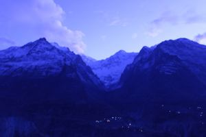 View at Embassy Hotel, Hunza Valley