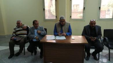 رئيس مدينة الأقصر يعقد أول لقاء دوري لحل مشاكل المواطنين