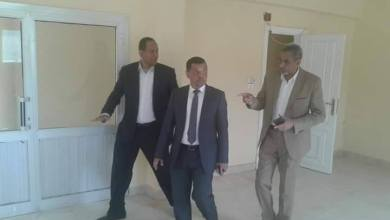 المكتب الفني لمساعد وزير العدل يتفقد الموقع المقترح لاقامة شهر عقاري بمدينة الطود بالاقصر