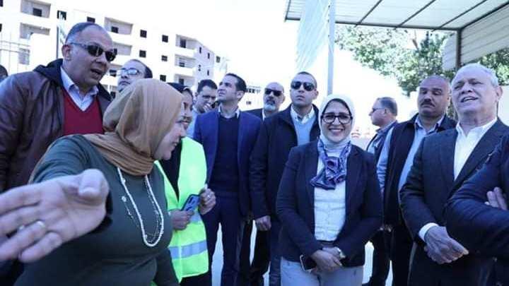 """زايد.. تشيد بمعدلات التطوير بوحداتي """"الشيخ موسي والحبيل"""" بالأقصر"""