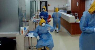 تجهيزات شاملة بالعناية المركزة داخل مستشفى اسنا لأستقبال مصابى فيروس كورونا بالأقصر