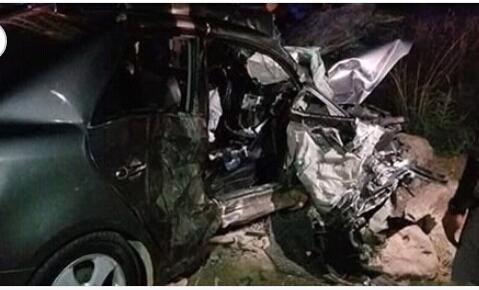 حادث بطريق الاسماعيليه يسفر عن مصرع وإصابة 8 أشخاص.