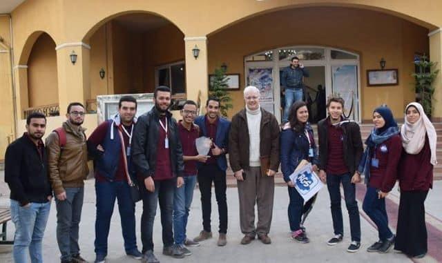 بمناسبة مرور خمسة سنوات على تأسيسه الجامعة المصرية الروسية تكشف إنجازات فريق  هندسة الميكاترونيات والروبوتات..