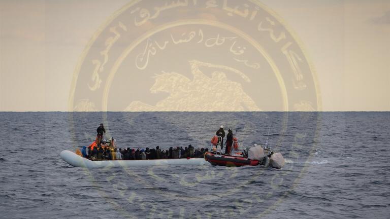 البحرية الليبية تتمكن من إنقاذ أكثر من 600 مهاجر