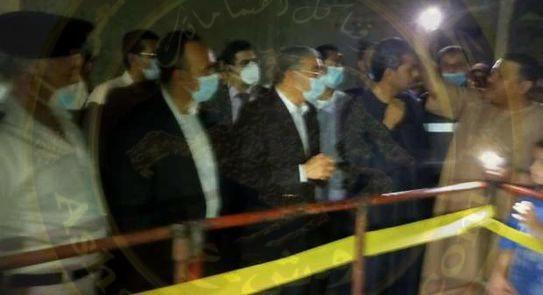 القاضى_ يتابع الموقف فى حادث بغرفة الصرف الصحي بقرية صفانية بمركز العدوة