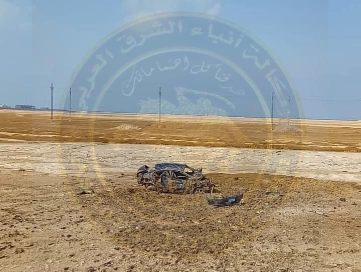 عاجل:حادث مروع بعد نفق الشهيد أحمد حمدي بالسويس