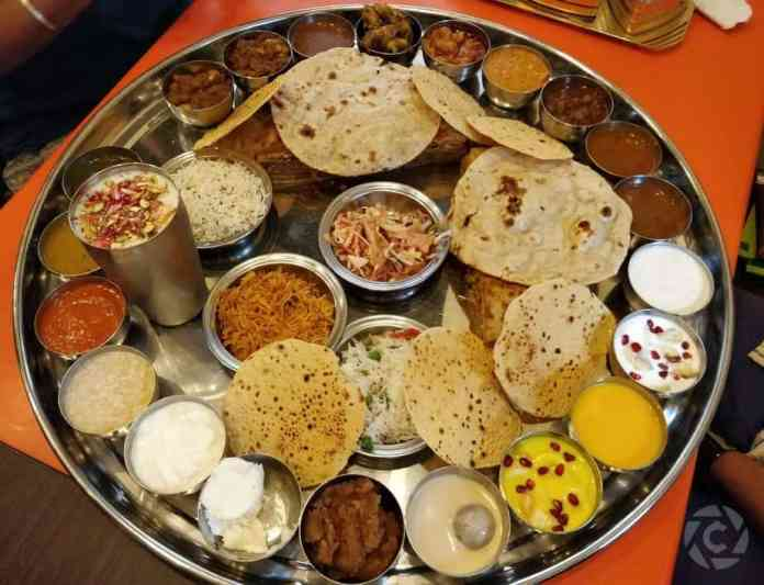 Famous Unlimited  Gujarati Thalis in Ahmedabad!