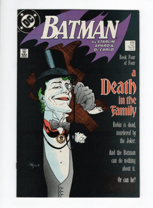 Batman 429—Front Cover
