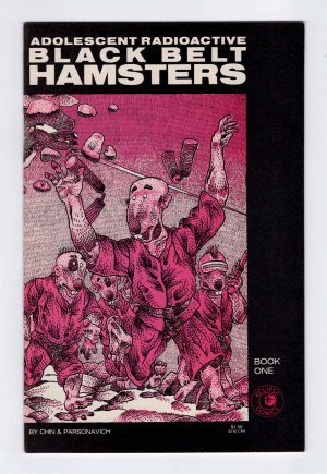 Black Belt Hamsters 1 (2nd Print)—Front Cover