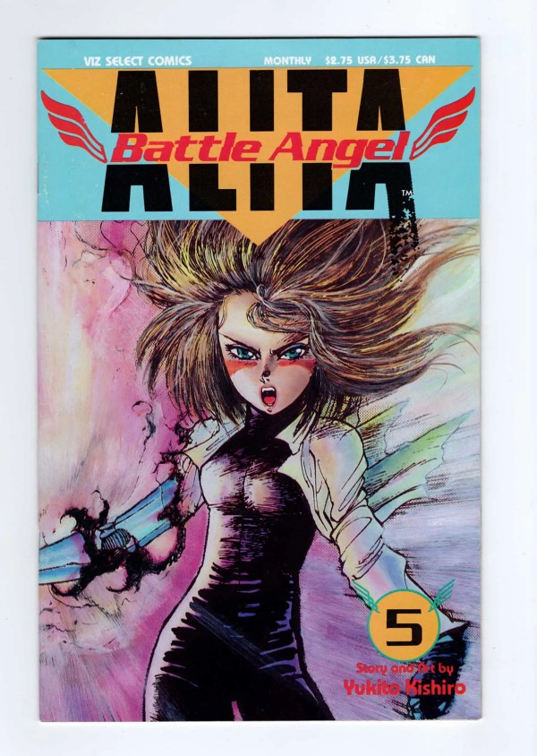 Battle Angel Alita 5—Front Cover