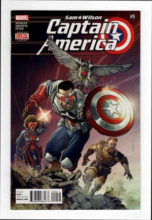 Captain America: Sam Wilson 9—Front Cover