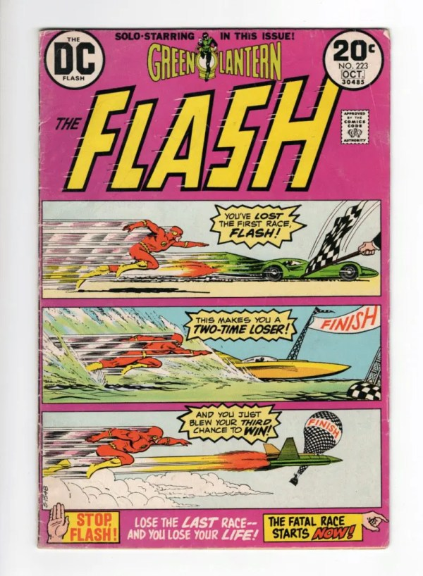Flash 223—Front Cover