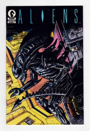 Aliens (1988) 6—Front Cover