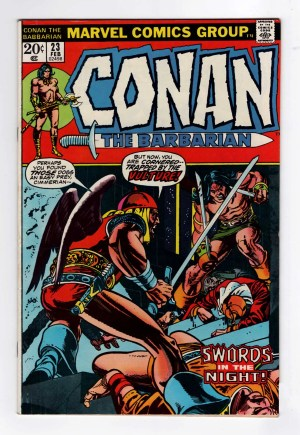 Conan the Barbarian 23—Front Cover