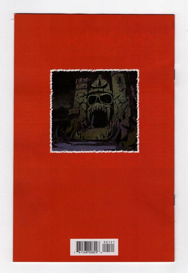 MotU: Revelation 1—Back Cover