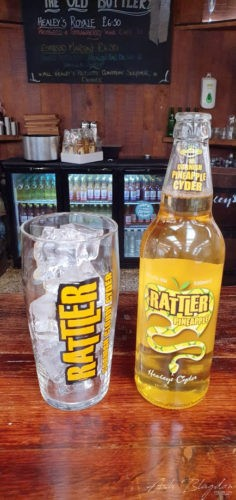 Healey's Cider Farm Newquay New Pineapple Rattler
