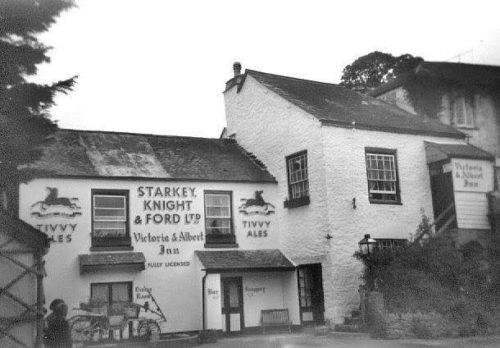Victoria & Albert Inn Stoke Gabriel Paignton History