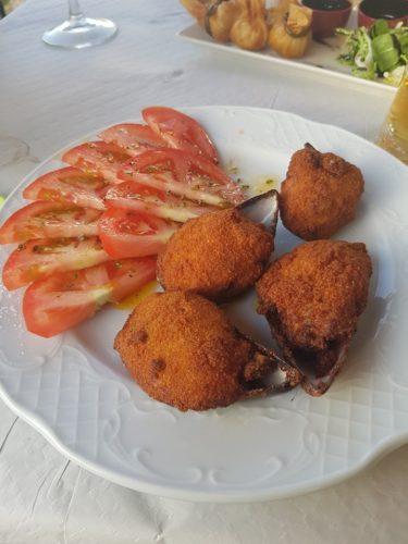 Food in Villanueva del Rosario, Spain
