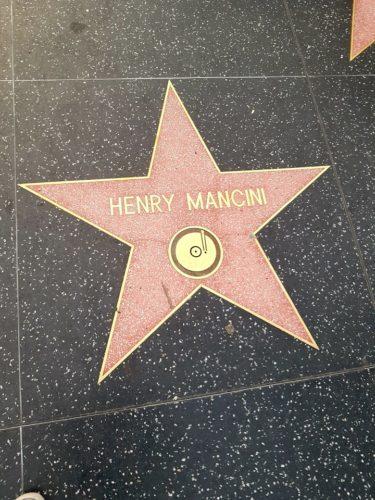 Henry Mancini Walk of Fame, Hollywood Los Angeles