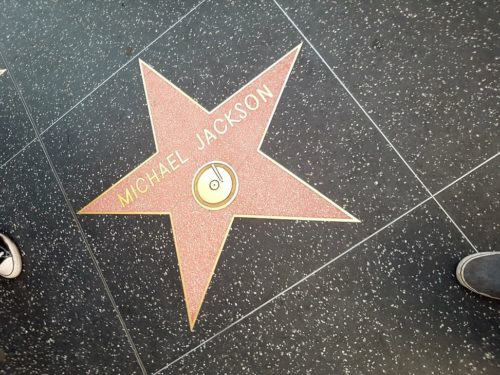 Michael Jackson Walk of Fame, Hollywood Los Angeles