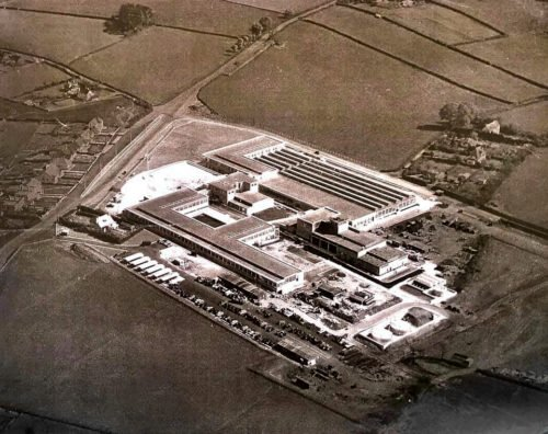 Aerial image of STC (Nortel) Now the Range and South Devon College, Paignton
