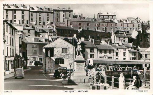 Brixham Quay c1939 History