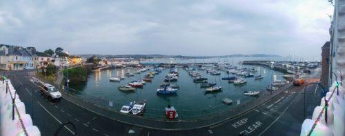 Paignton Harbour from TJ's Restaurant