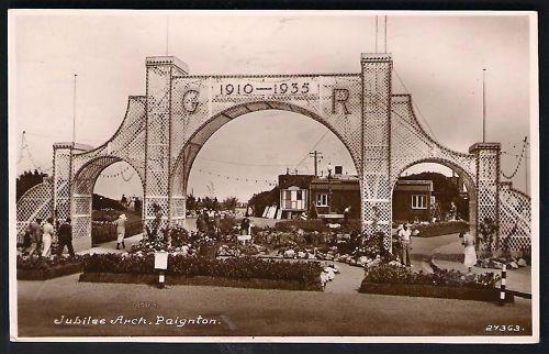 Jubilee Arch Paignton History