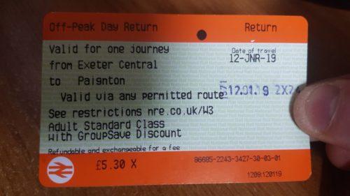 Paignton Train Tickets to Exeter