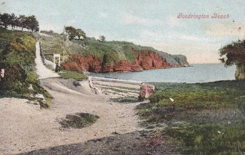 Historical image of Goodrington Beach, 1905
