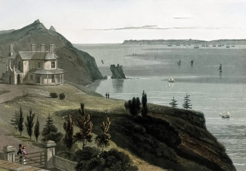 Marine Villa Now the Imperial Hotel, Peaked Tor Cove, Torquay - History.