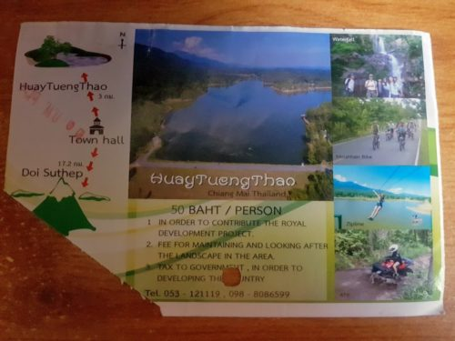 Huay Tung Tao Lake, Chiang Mai, Thailand